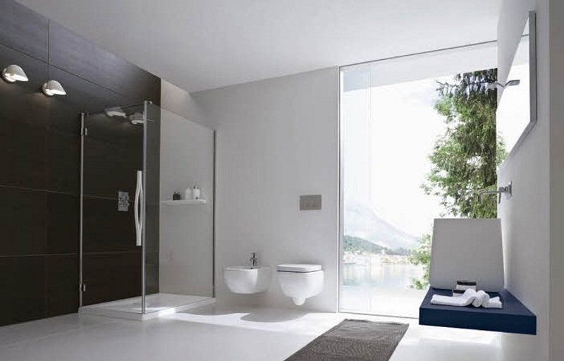 Simple elegant bathroom designs photos 012 small room for Simple toilet design
