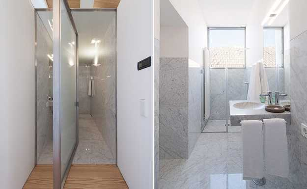 Small bathroom shower design options small room decorating ideas - Small space shower gallery ...