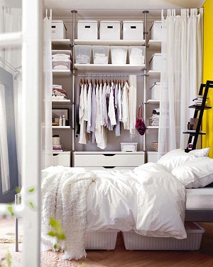 small bedroom clothes storage ideas pictures 09