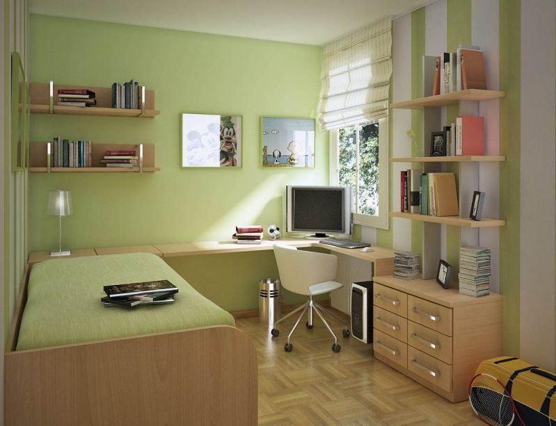 Small bedroom decorating ideas for college student images 09 for Bedroom ideas student
