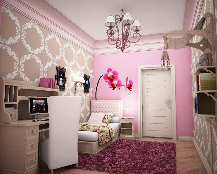 small bedroom designs for a teenage girl pic 01