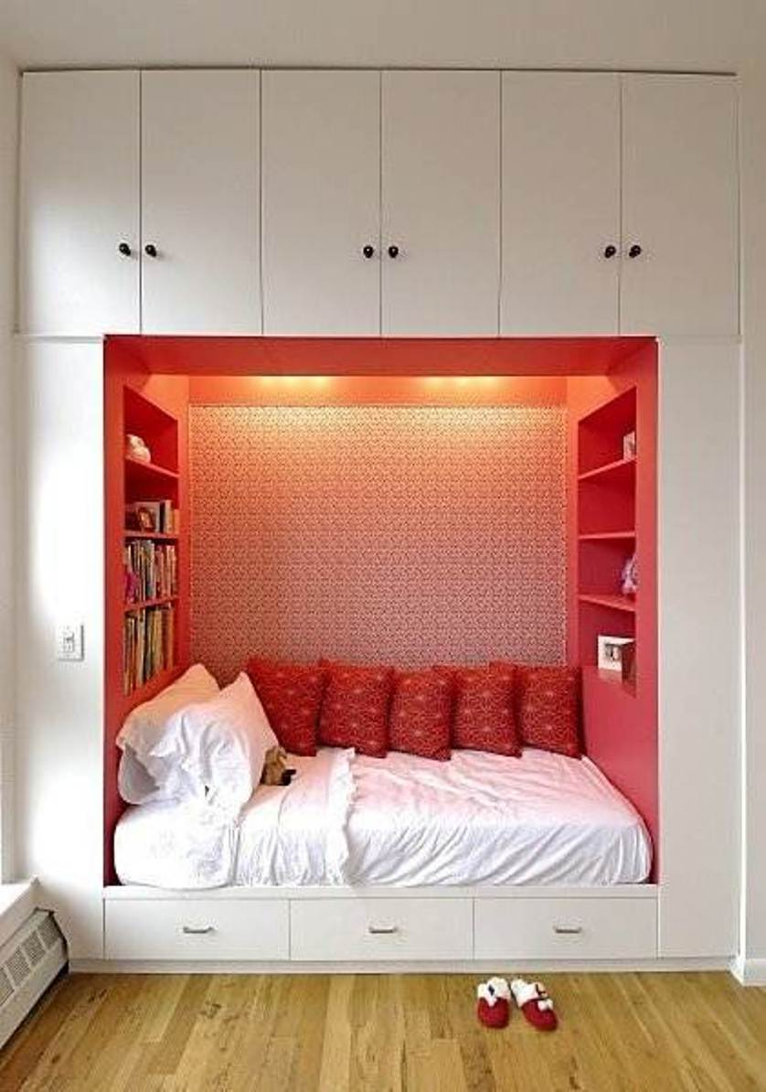 small bedroom storage design ideas photos 06 on Bedroom Ideas For Small Spaces  id=42801
