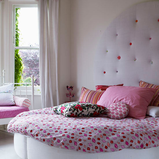 Bring the girlish look to your bedroom cute kids bedroom for Look for design bedroom