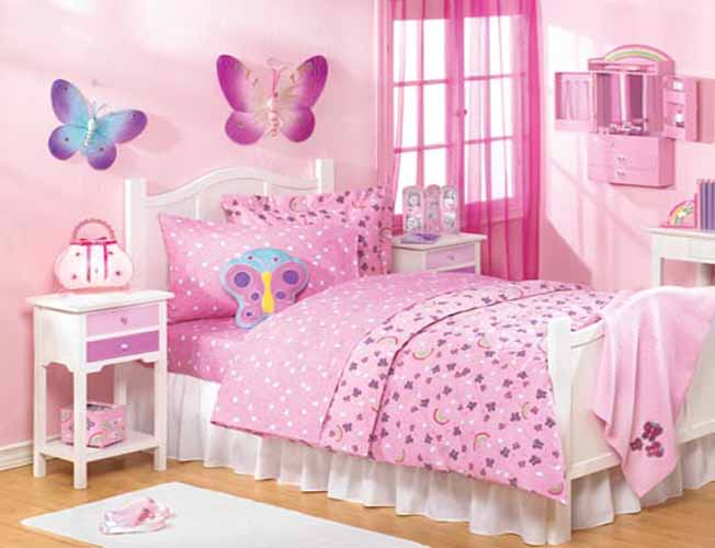 ways to make a big impact when decorating a small girls room small