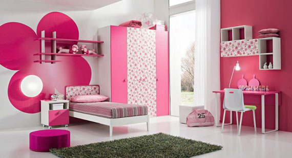 teenage girl bedroom decorating ideas pink image 05