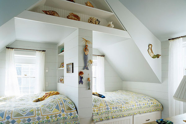 twin teenage girls bedroom design ideas pic 12