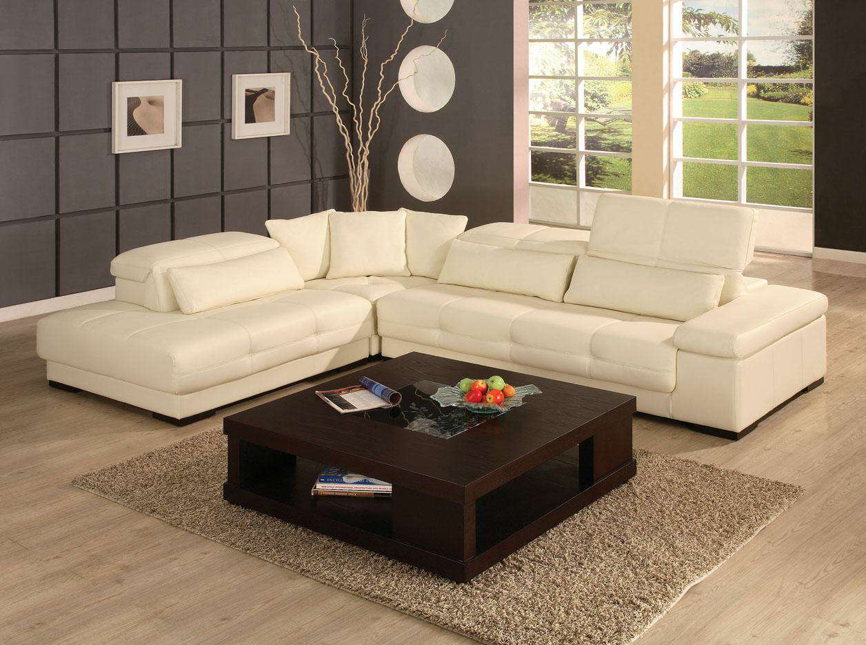 Amazing contemporary leather sectional pictures 01