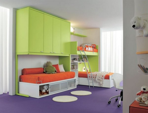 Awesome Small Kids Bedroom Furniture Design pictures 09