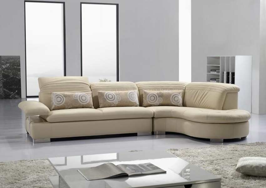 Awesome modern leather sectional pic 011