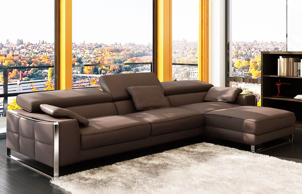 Best contemporary leather sectionals pictures 02