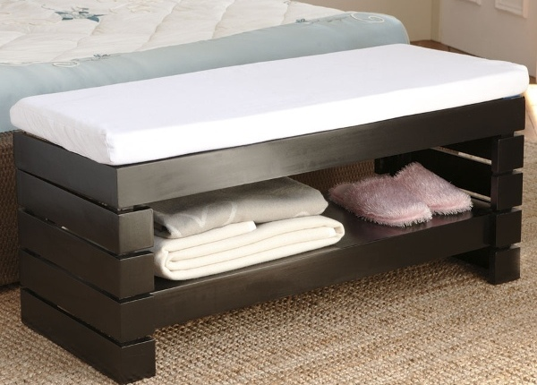 Bedroom storage bench furniture ideas small room decorating ideas - Benches for bedrooms ...