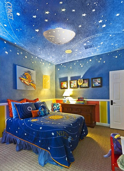 Blue childrens bedroom lighting fixtures ideas pictures 011