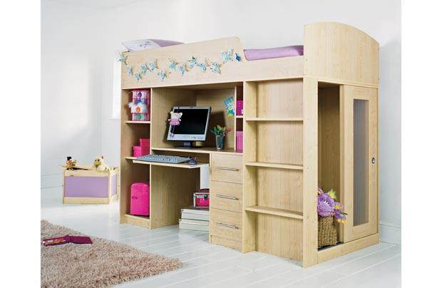 Small Box Room Cabin Bed For Grandma: Cabin Beds Small Rooms In A Box Pictures 02