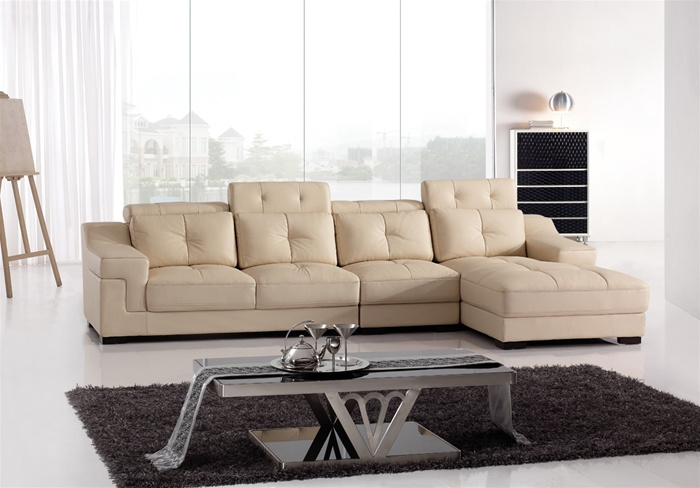 Cool contemporary leather sofa picture 03