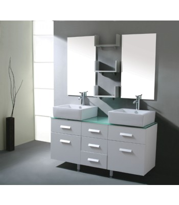 Modern Double Sink Bathroom Furniture picture 005