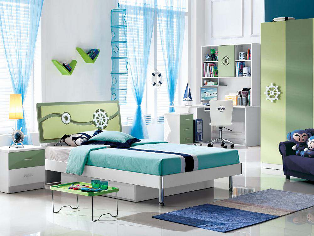 Modern children bedroom furniture design picture 01