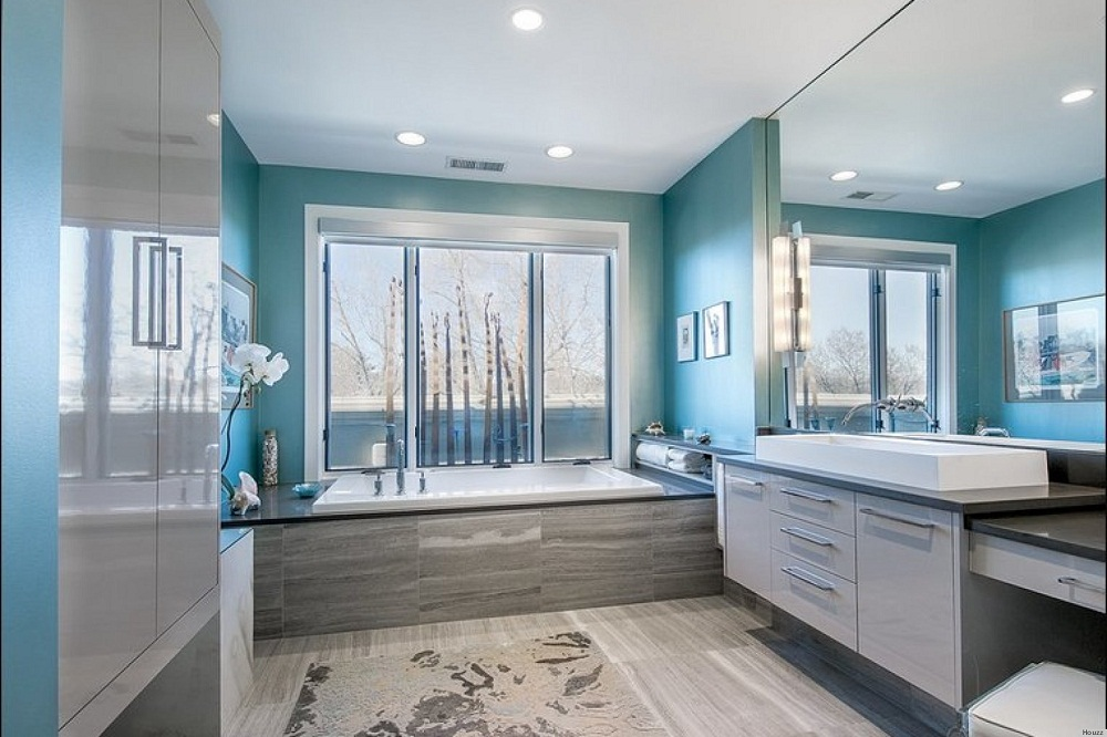 Bathroom Paint Color Ideas Blue Colour Scheme 04 Small Room Decorating Ideas