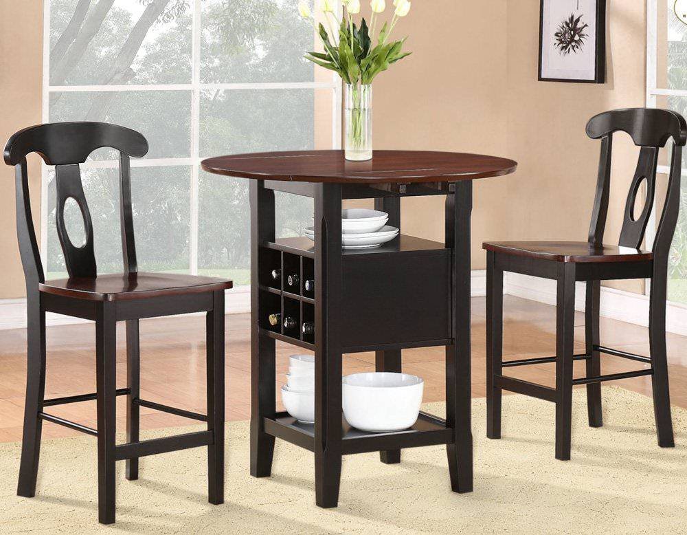 Tips dining room furniture for small spaces small room for Dining room tables for small spaces