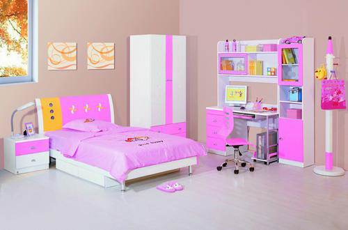 beautiful pink children bedroom furniture image 08