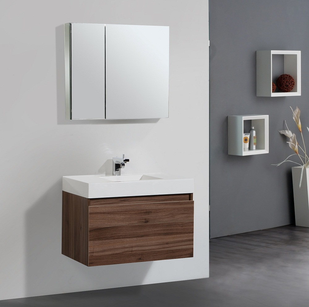 cabinet design for small bathroom with stainless faucet 012