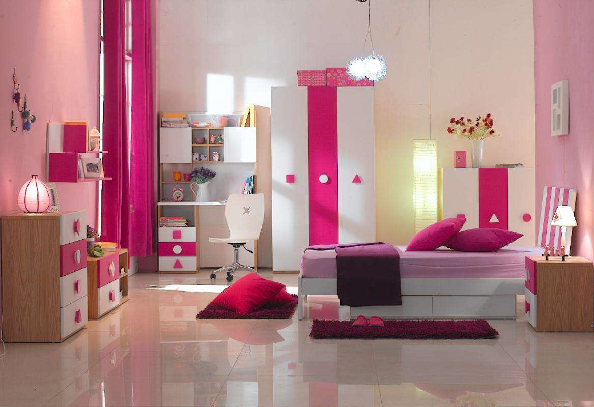 Beautiful Children Girl Bedroom Furniture Sets photos 09  Small Room ...