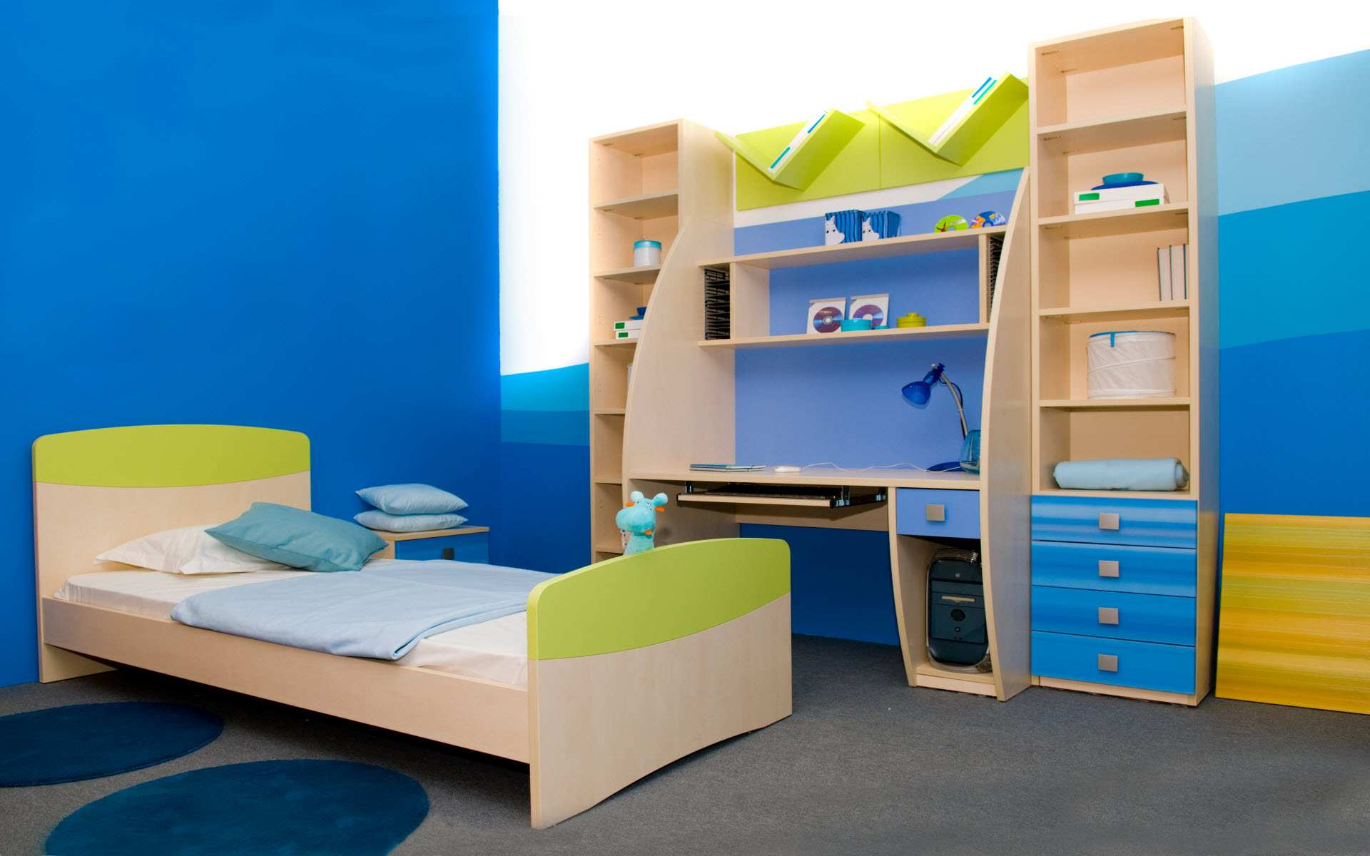 Cool small kids bedroom decorating ideas for boy photos 06 for Cool kids rooms decorating ideas