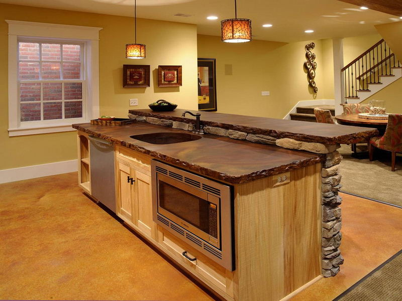 design small kitchen island with sink images 06