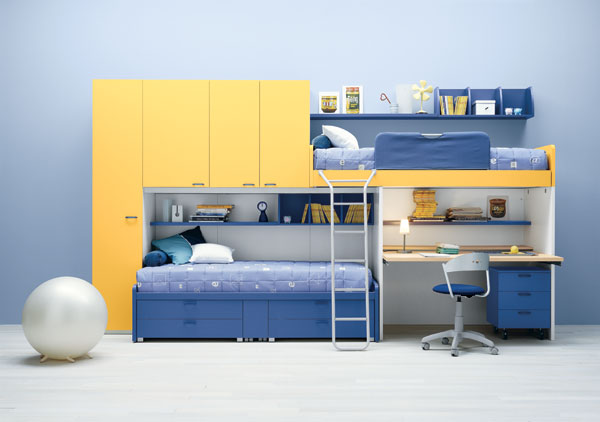 modern childrens bedroom furniture sets pictures 011