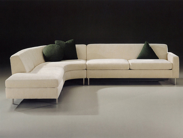 nice cream modern leather sofa picture 12