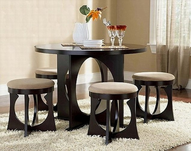 nice dining room table chairs small spaces pictures 01