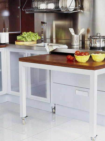 Kitchen tables for small spaces small room decorating ideas - Small spaces kitchen table pict ...