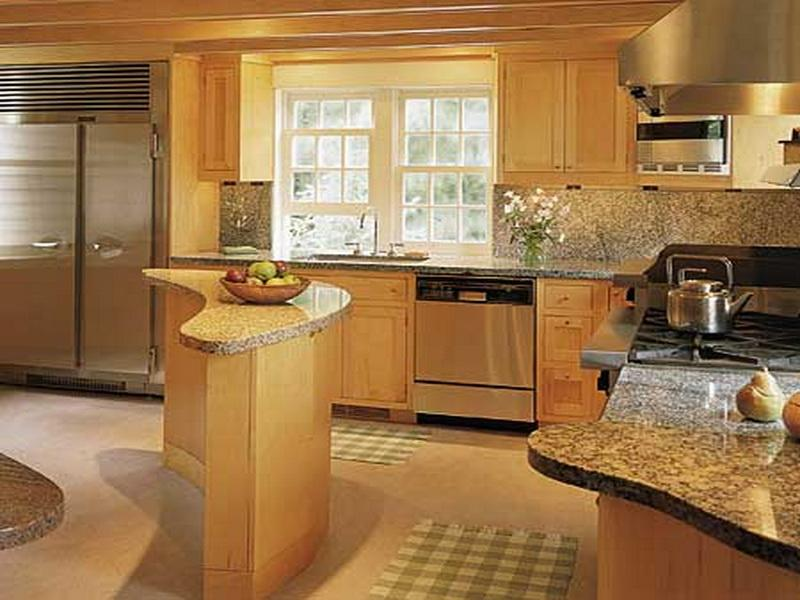 Pictures of small kitchen remodeling ideas on a budget for Small kitchen redo ideas
