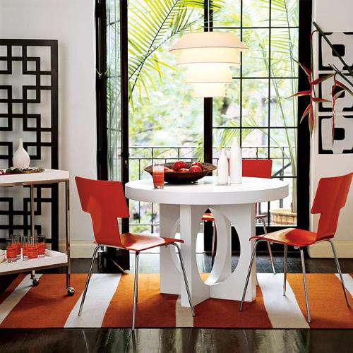 red and white best dining room tables small spaces pictures 02