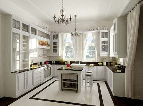 small kitchen remodel ideas for u shaped 04