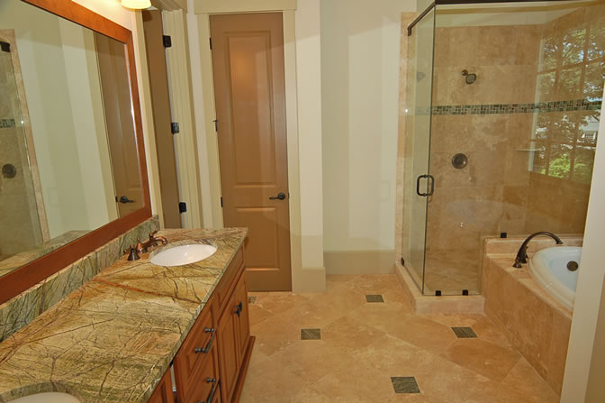 Tips small master bathroom remodel ideas small room for Bathroom bedroom design