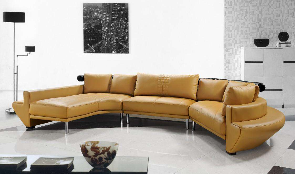 top chossing yellow contemporary sectionals set photos 09