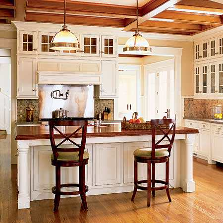Top small kitchen island with bar stools photos 09 small for Kitchen island ideas small space