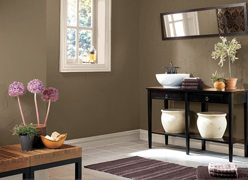 very nice bathroom paint color ideas for small bathrooms 05