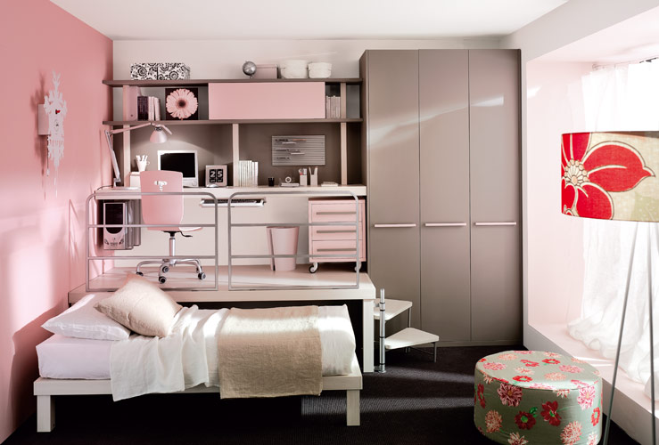 Beautiful small bedroom storage images 03