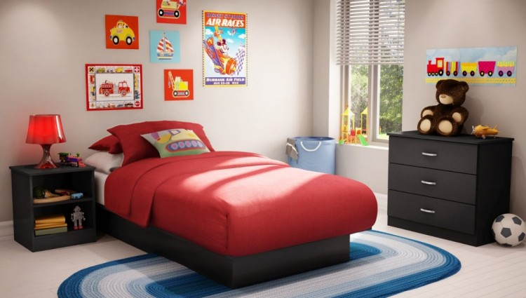 Cool storage for small bedrooms ideas for kids 016