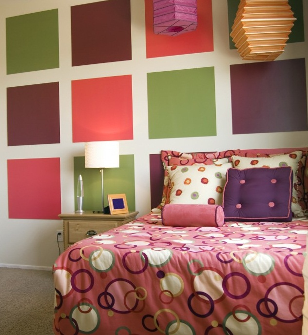 Cute paint bedroom walls different colors for gilrs photo 11 - Girl colors for bedrooms ...