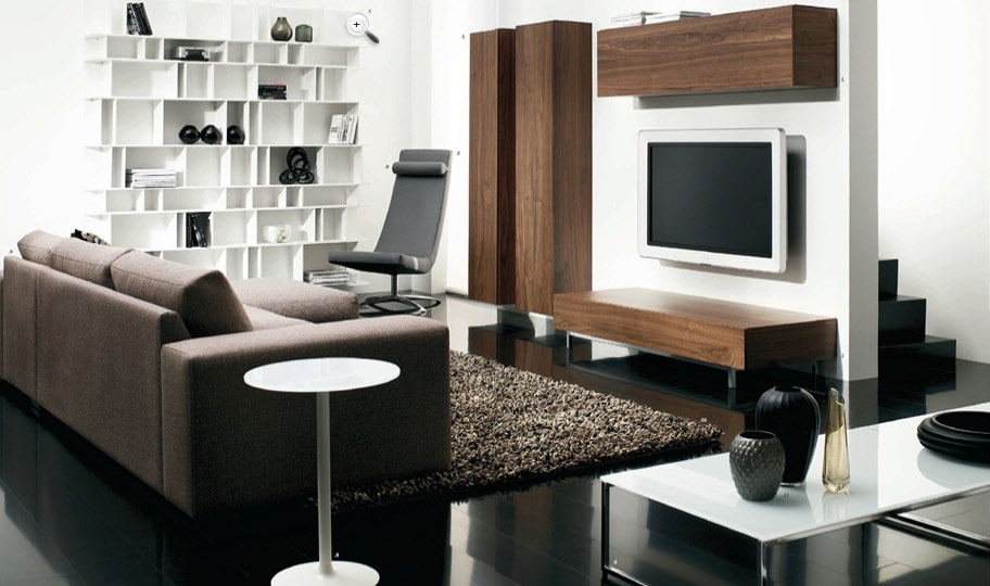 Good Modern Living Room Bedroom Furniture Pictures 04 Small Room Decorating