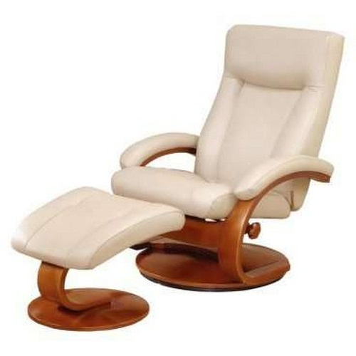Modern leather recliner chairs and footstools pictures 07