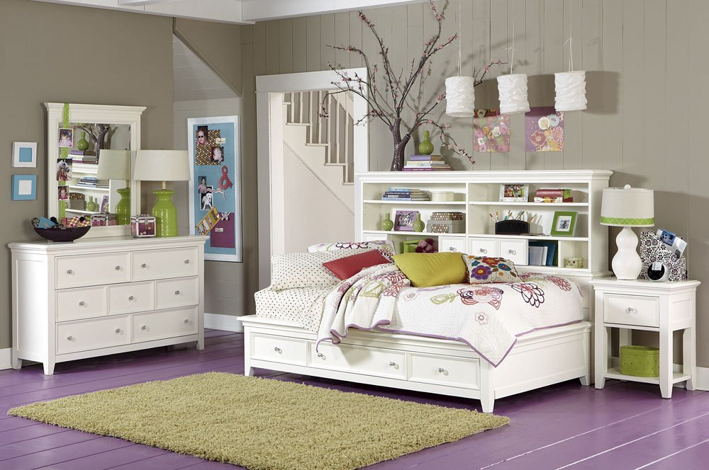 Nice storage for small bedrooms images 04 for Storage ideas for small bedrooms with no closet