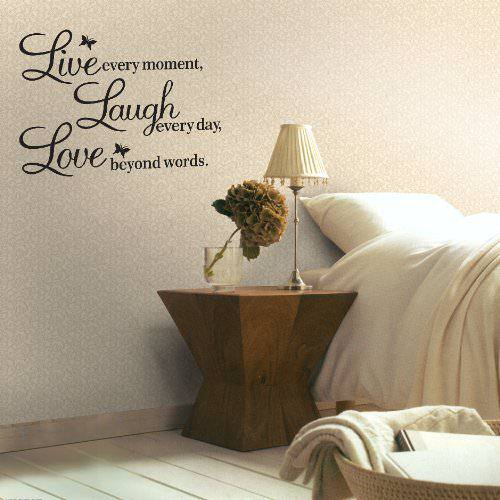 best wall sticker quotes for bedrooms small room wall stickers quotes bedroom ebay