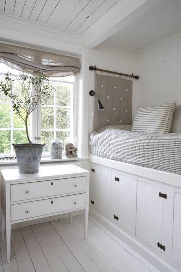 White storage for small bedrooms photos 12 small room for Good ideas for small rooms