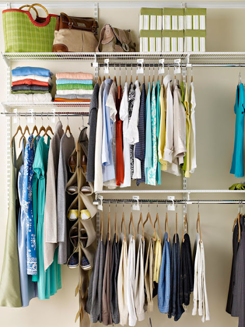 closet organization ideas easy to use apartment closet