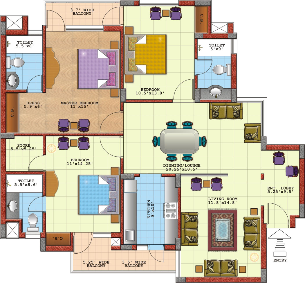 apartment floor plan creator, file, abbreviations pic 011