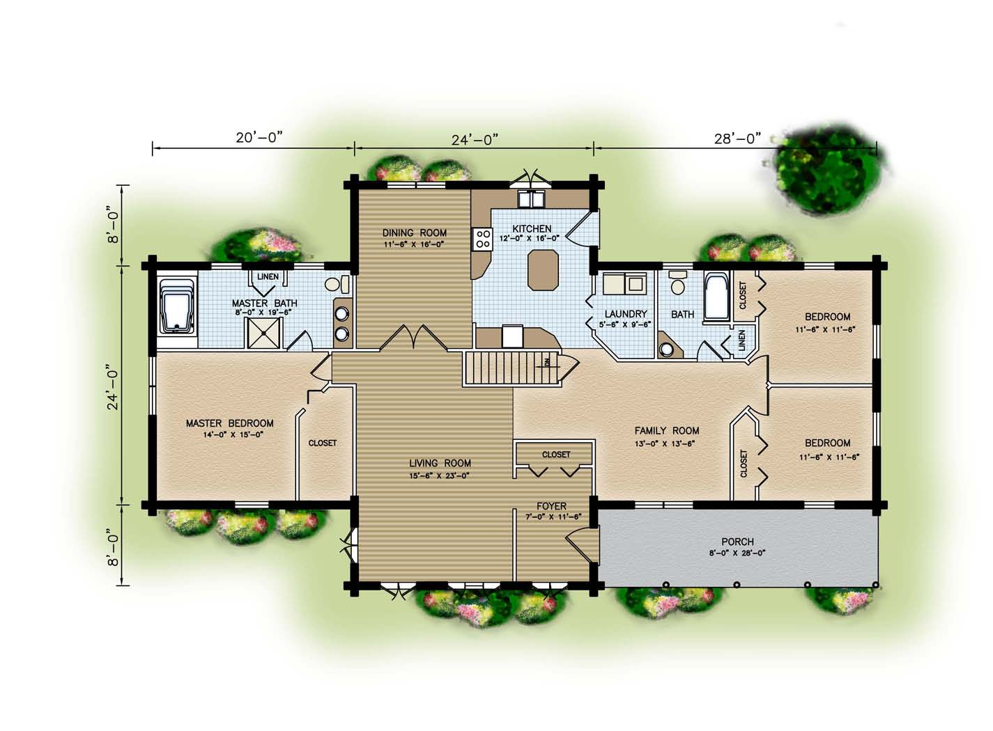apartment floor plan examples pictures 04