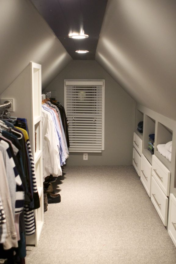 attic closet organization ideas photos 12